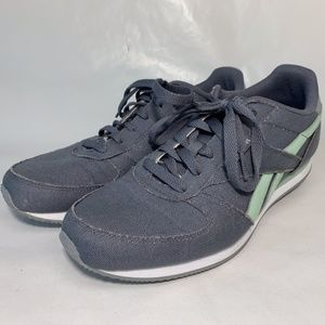 Men's Reebok Classic Royal Jogger Gray Green sz 8